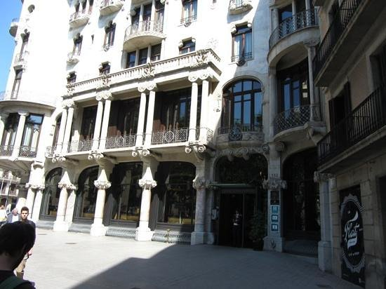 Casa Fuster Hotel: Add a caption