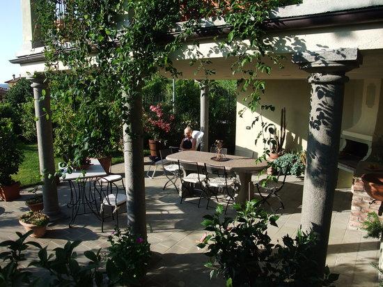 Al Vecchio Gelso : veranda