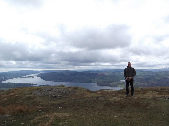 The Archway Guesthouse: Top of Wransfell - Walk from Windermere to Ambleside