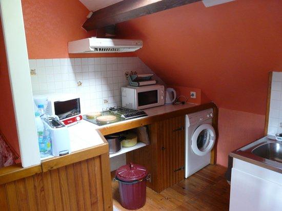villa-sans-souci : coin cuisine
