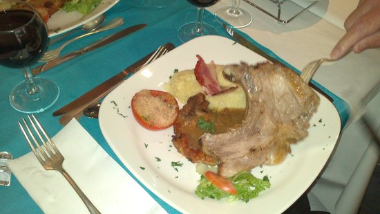 Helgon Hotel: le repas excellent