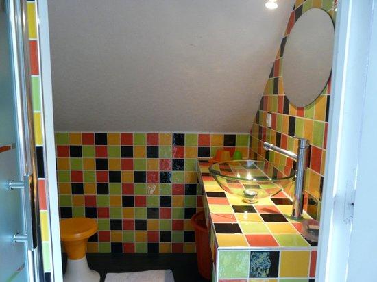villa-sans-souci : salle de bains