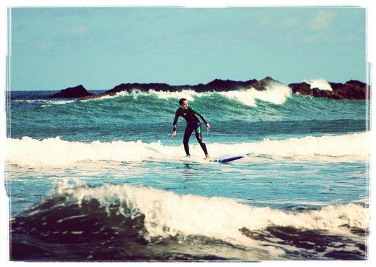 Porto da Cruz, Portugal : Surf class