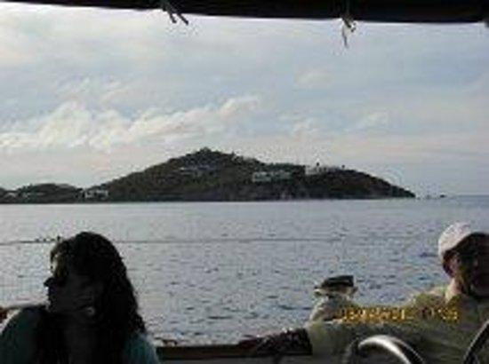New Horizons - Dinner Cruise: Beautiful view of the island