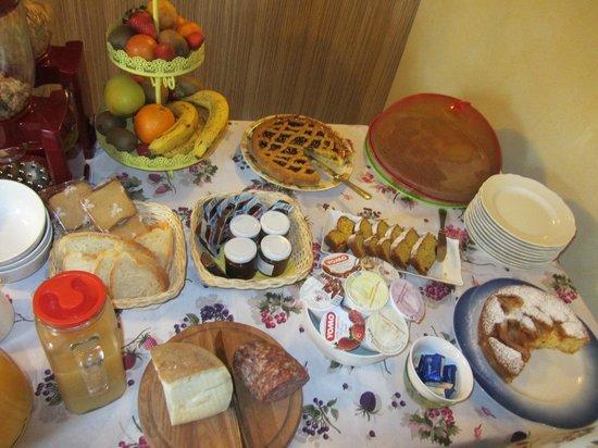 Casale L'Antico Carro: La colazione