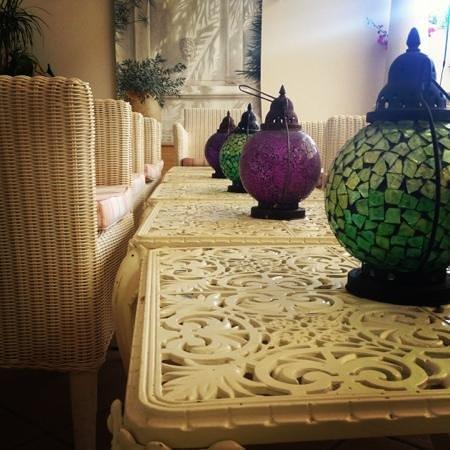 Quinta Jacintina Hotel: verandah