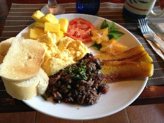Casita Corcovado : Desayunas