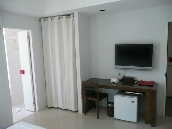 The Album Hotel : vue de la chambre