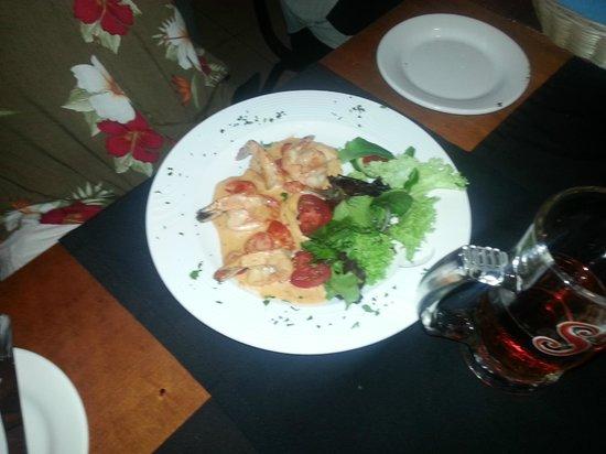 Bruno Bistro Gourmet : Shrimp Adrianna