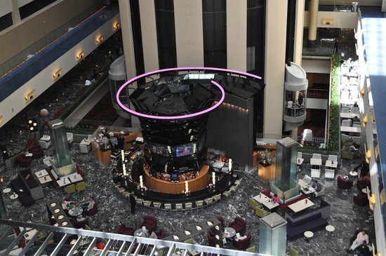 New York Marriott Marquis: Bar