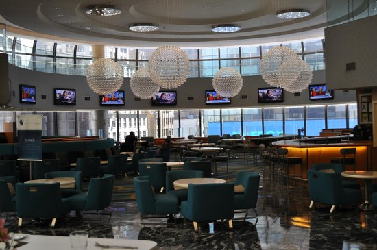 New York Marriott Marquis: Lounge / Restaurant