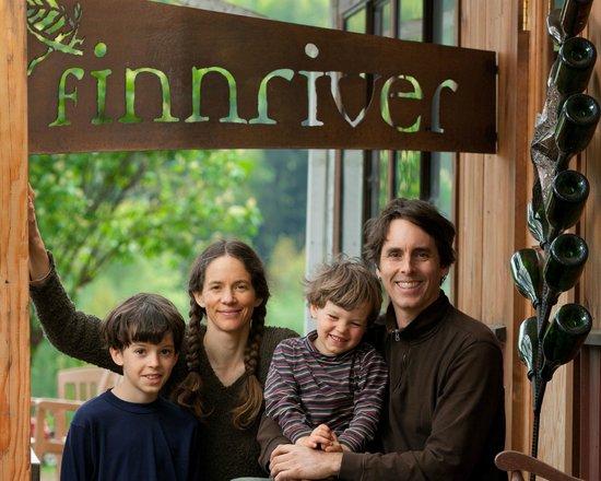 Kisler family at Finnriver