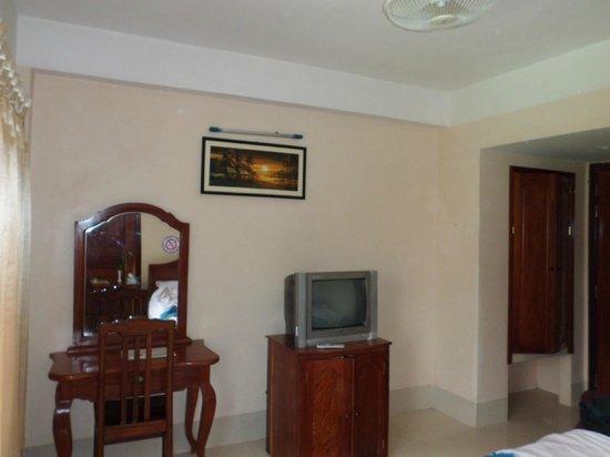 Siem Reap Riverside: une partie de la chambre très confortable