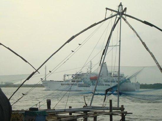 Neemrana's Tower House : Chinese Fishing nets