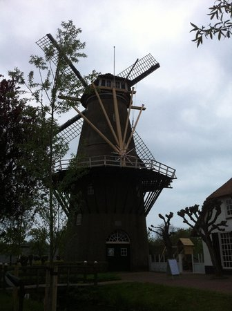 De Arendshoeve - Hotel & Restaurant: Windmill outside the hotel