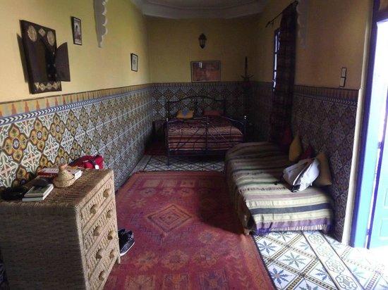 Ryad Les Cigognes : Chambre