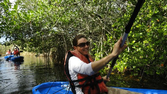 Tours in the Glades: 1st Time Paddling- No problem!