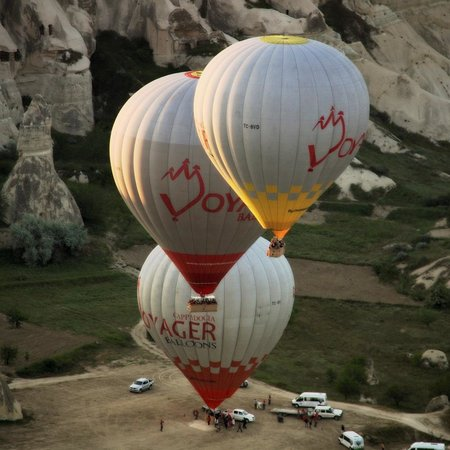 Cappadocia Voyager Balloons: During take-off