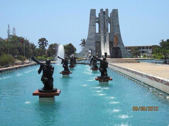 Kwame Nkrumah Memorial Park : Musicians of the park