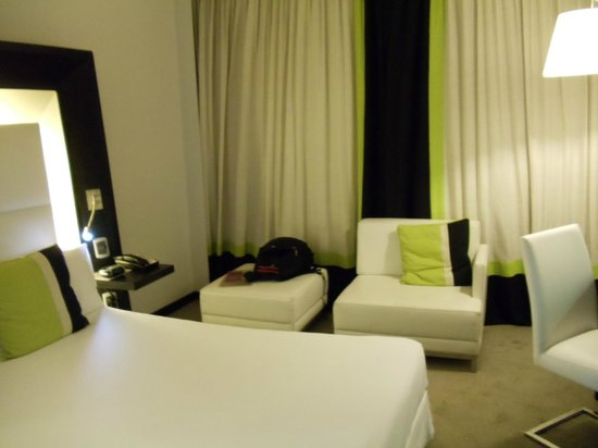 Room at the Novotel Buenos Aires