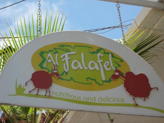 Al Falafel: Signage