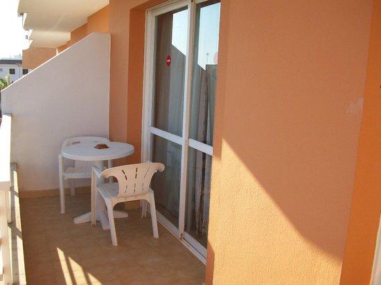 Baulo Mar Apartaments: The balcony