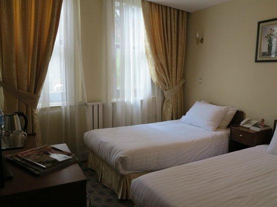 Historia Hotel: Vue de la chambre