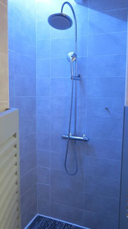Les chambres du Cosquer: Rainy shower-head
