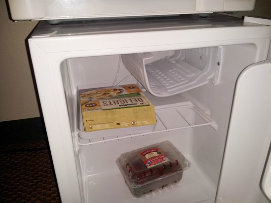 Days Inn & Suites Rocky Mount Golden East: Fridge