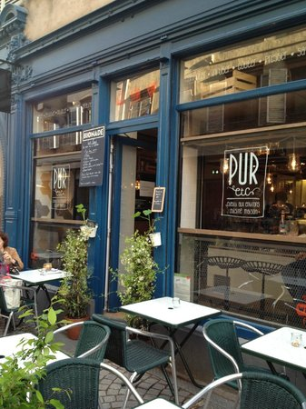 restaurant pur etc situ grand rue strasbourg picture of pur etc place saint etienne. Black Bedroom Furniture Sets. Home Design Ideas