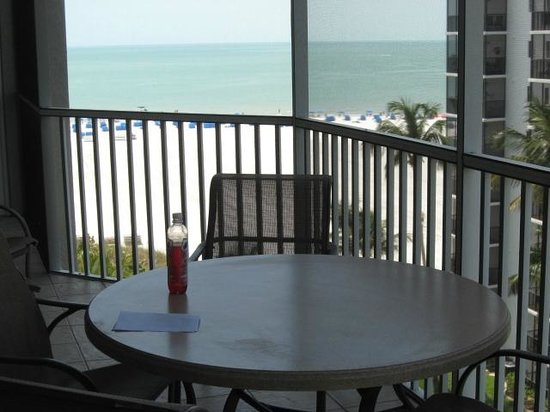 GullWing Beach Resort: Gulf view from deck