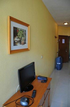 Apartamentos Las Dunas: Платный телевизор