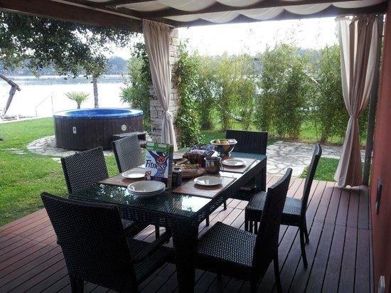 Melia Istrian Villas: terase