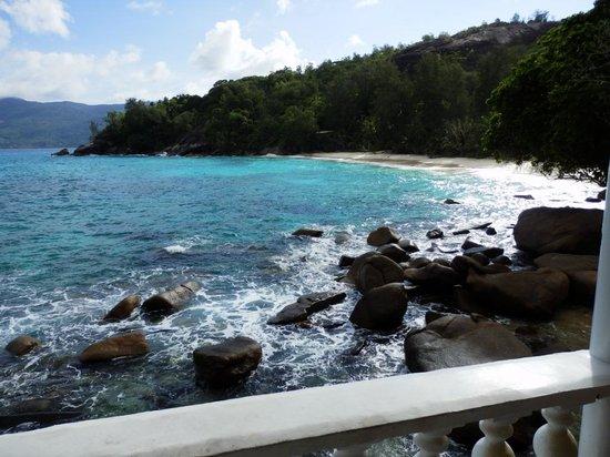 Anse Soleil Beachcomber: la vue depuis la chambre 10