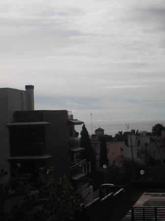 Astari Hotel : View from balcony