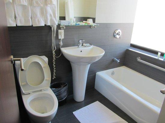 โรงแรมเบสเวสเทิร์นโบเวรี่ฮันบี: bathroom