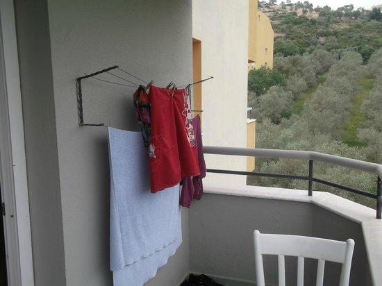 Opus Apart Hotel: balkon