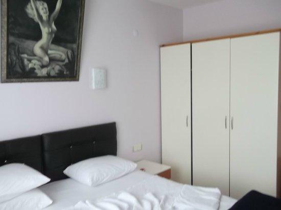 Opus Apart Hotel: yatak odası