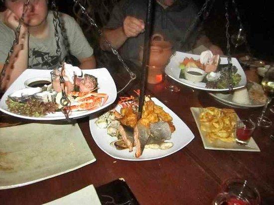 Anantara Dhigu Maldives Resort: food