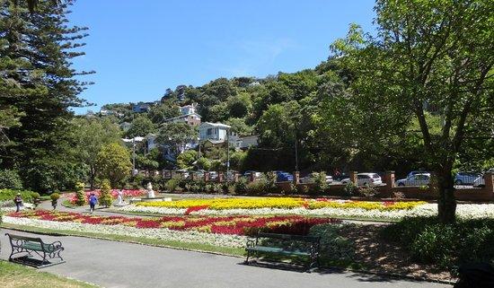 Wellington Botanic Garden: Lower entrance