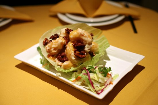 China Palace: Walnut Shrimp