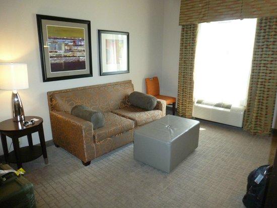 Hampton Inn & Suites Shreveport-South: Living Room/Sitting Room