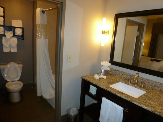 Hampton Inn & Suites Shreveport-South: Bathroom