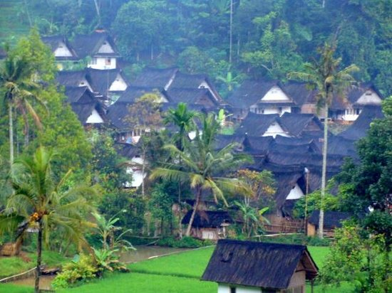 Tasikmalaya, Indonesien: The Village Naga
