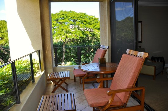 Four Seasons Resort Maui at Wailea: Our Suite Balcony