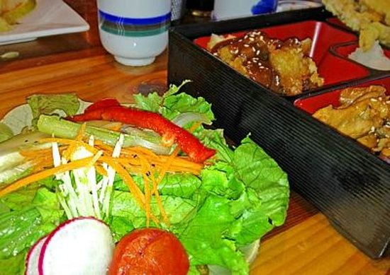 Miyo's signature fresh salad