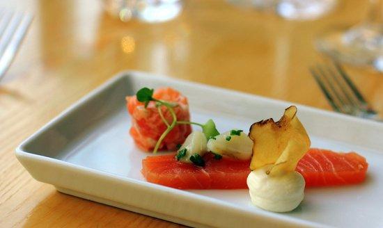 Fond Restaurang: Salmon