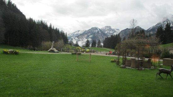 Berghotel Schlossanger Alp: Berge