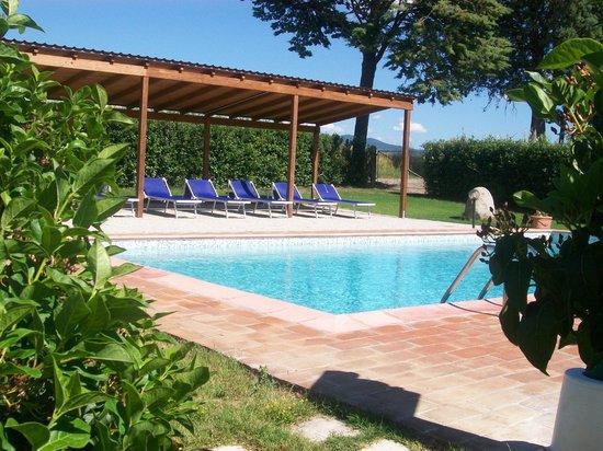 Agriturismo Capracotta: piscina