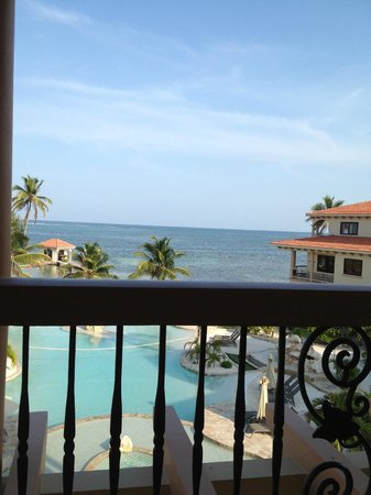 Coco Beach Resort: View from our balcony (big balcony)